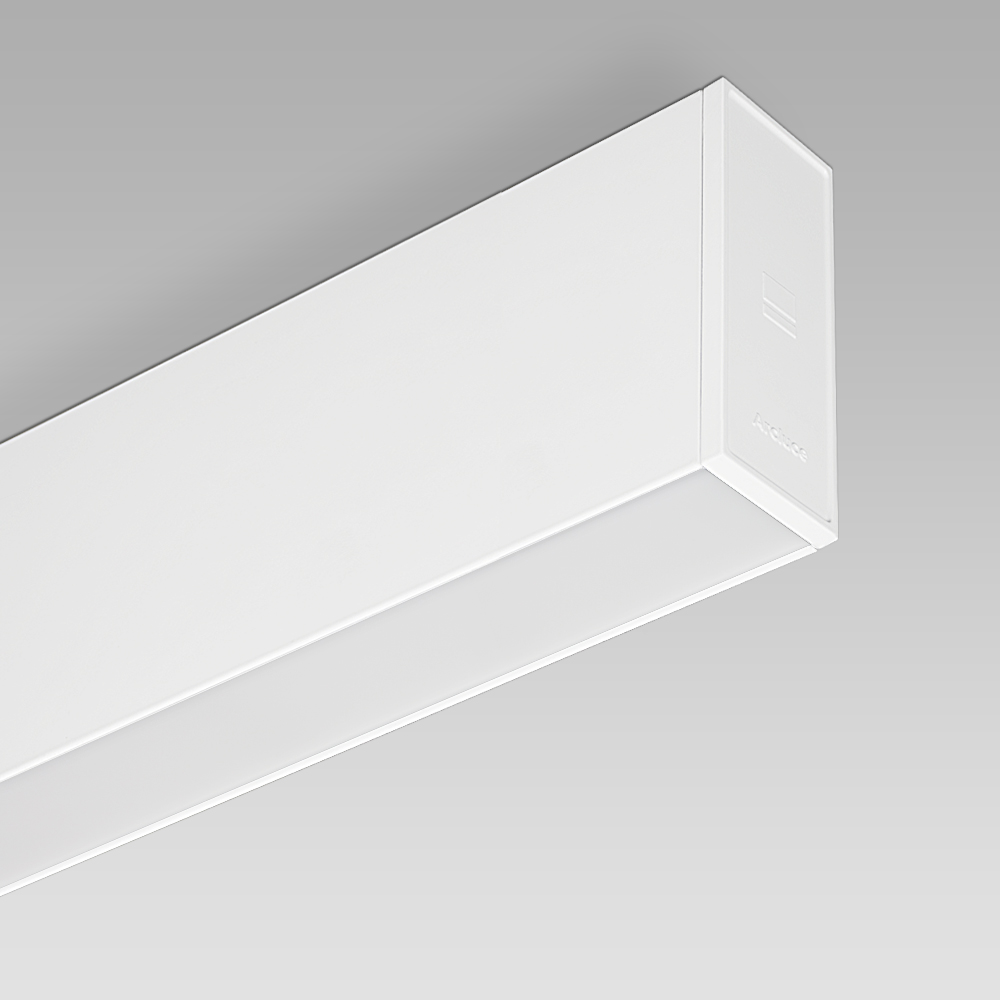Ceiling fittings RIGO31 Ceiling - ceiling mounted lumianire for indoor lighting with an elegant linear design