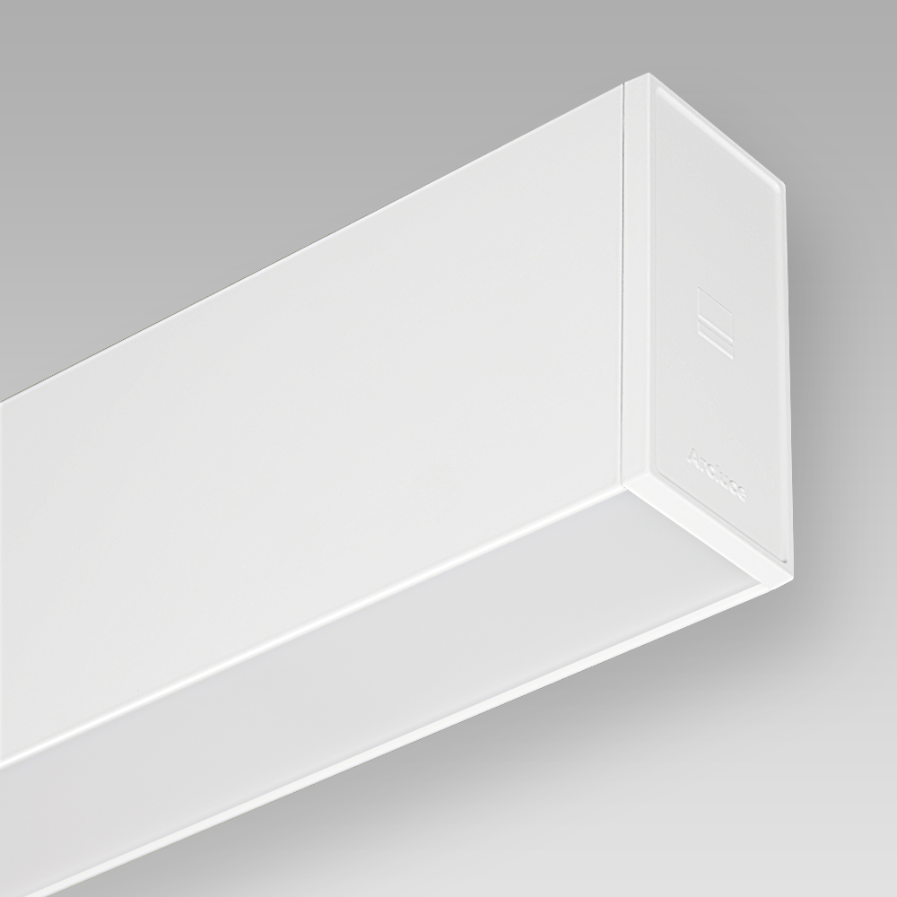 Wall mounted/recessed fittings Wall-mounted luminaire with sophisticated design for direct and indirect illumination, with a comfortable light