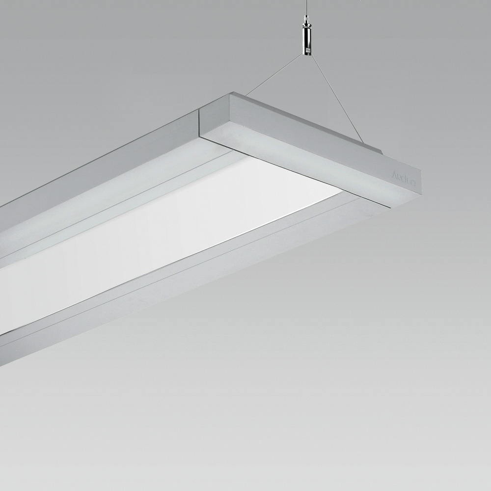 Pendant luminaires Linear suspended luminaire, also suitable for the creation of  modular lighting systems in indoor lighting